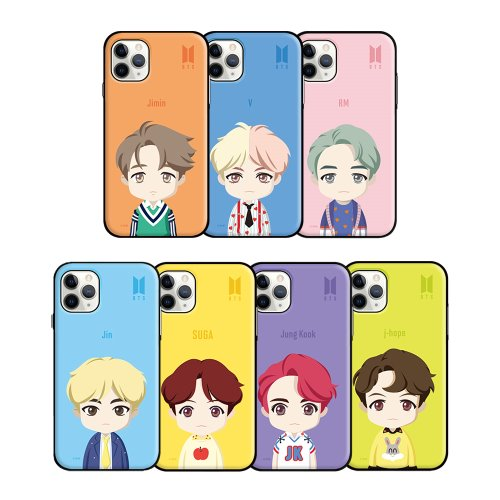 [BTS] BTS UPPER BODY OPEN CARD CASE