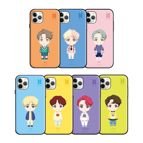 [BTS] BTS BASIC STANDING OPEN CARD CASE